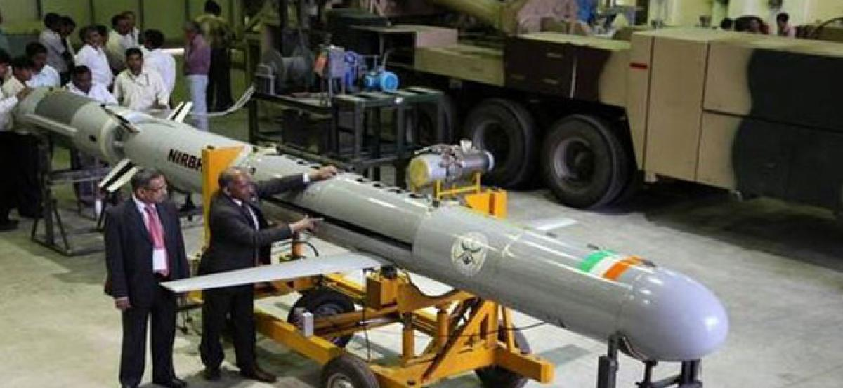 Subsonic cruise missile Nirbhay test fired from Chandipur ITR