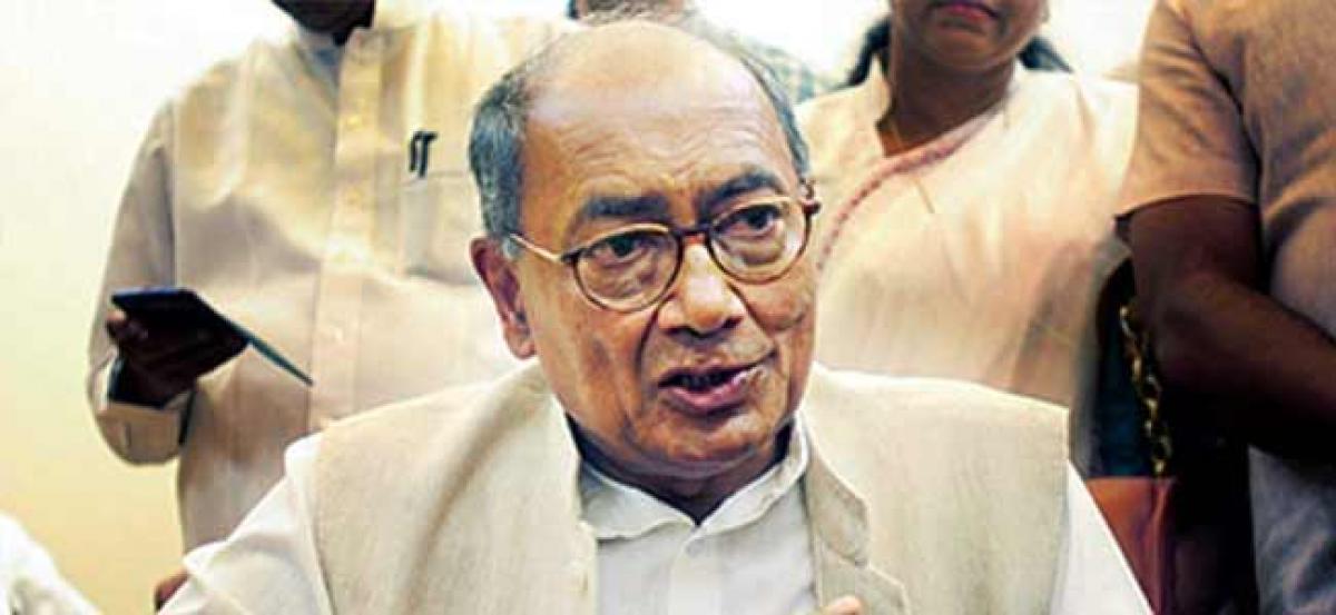 Vyapam scam: Digvijay Singh deposes in his complaint against MP CM Shivraj Singh Chouhan