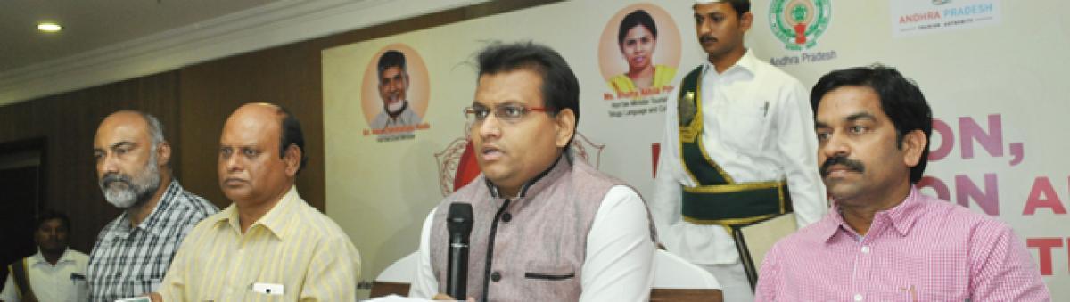 AP Govt promoting Tirupati as world spiritual capital