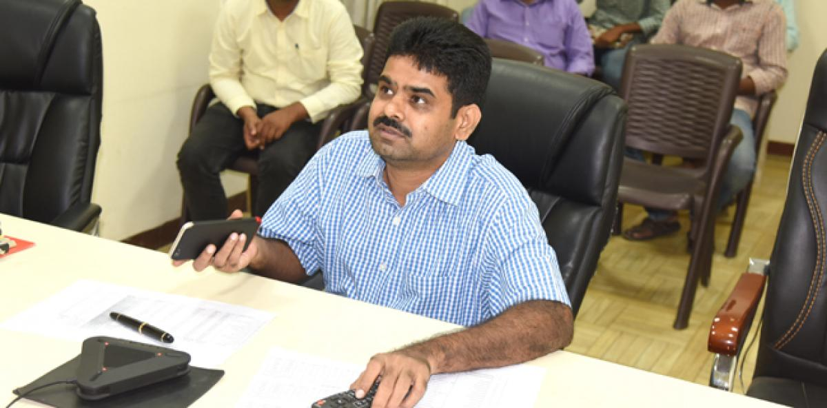 Speed up correction of errors in pattadar passbooks, says Collector to officials