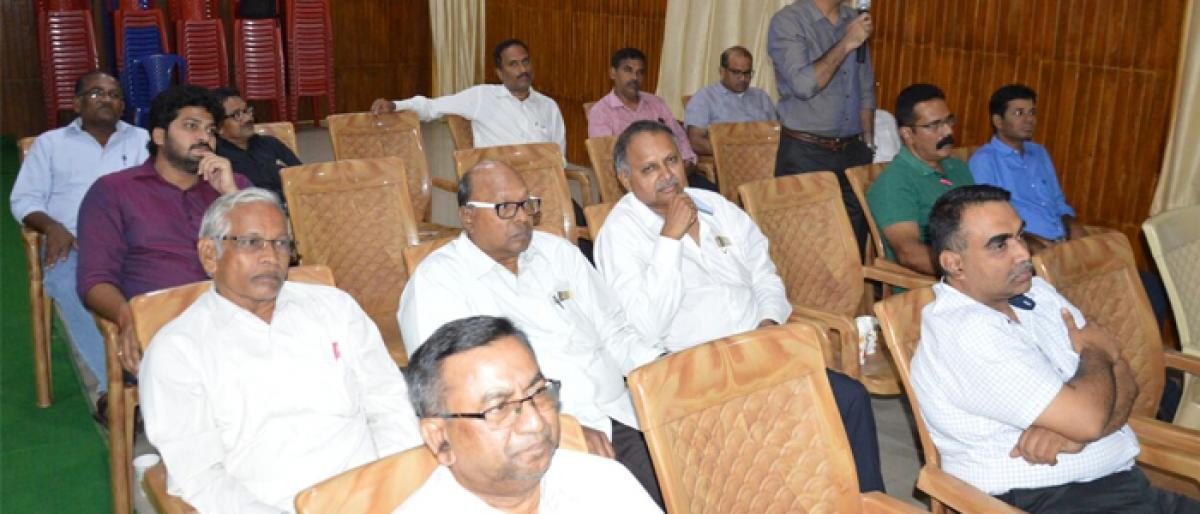 Continuing Medical Education on cancer held in Ongole