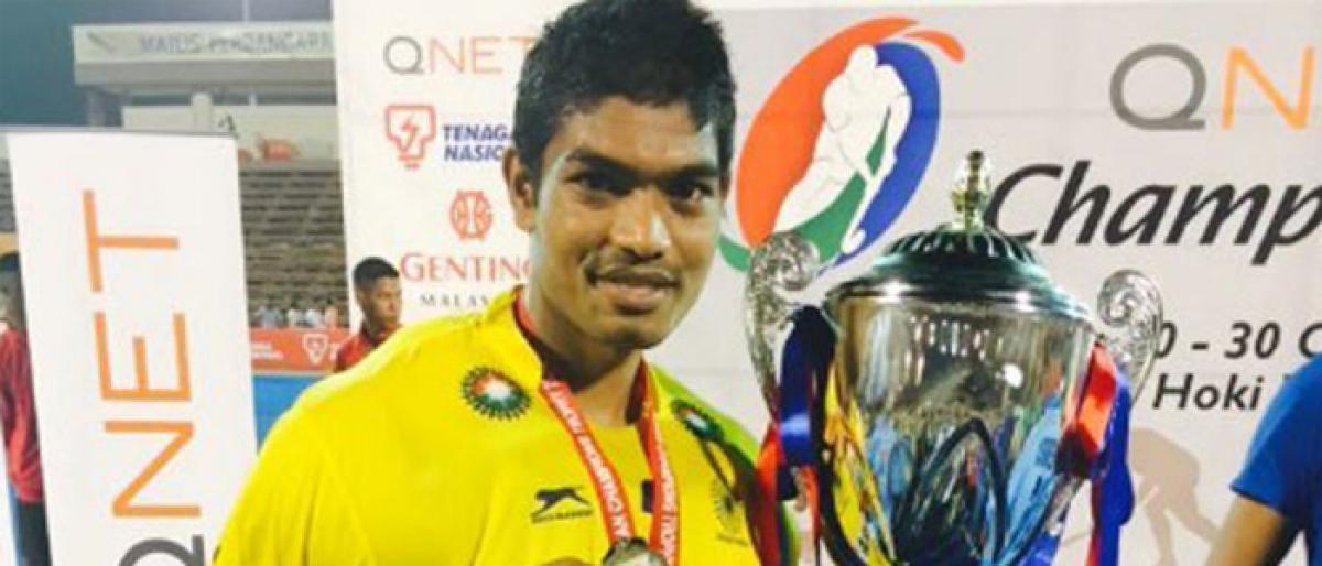 Dope violation: NADA bans hockey goalie Akash Chitke