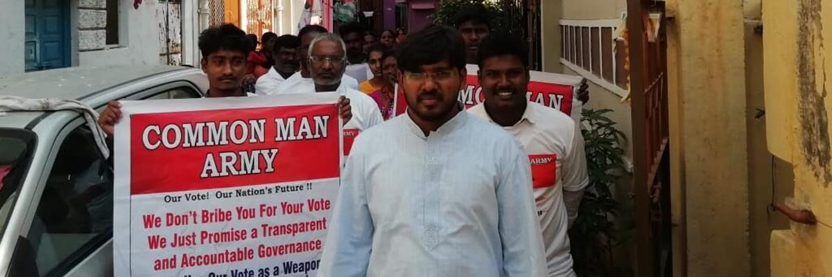 TJUDA chief enters poll  fray from Musheerabad