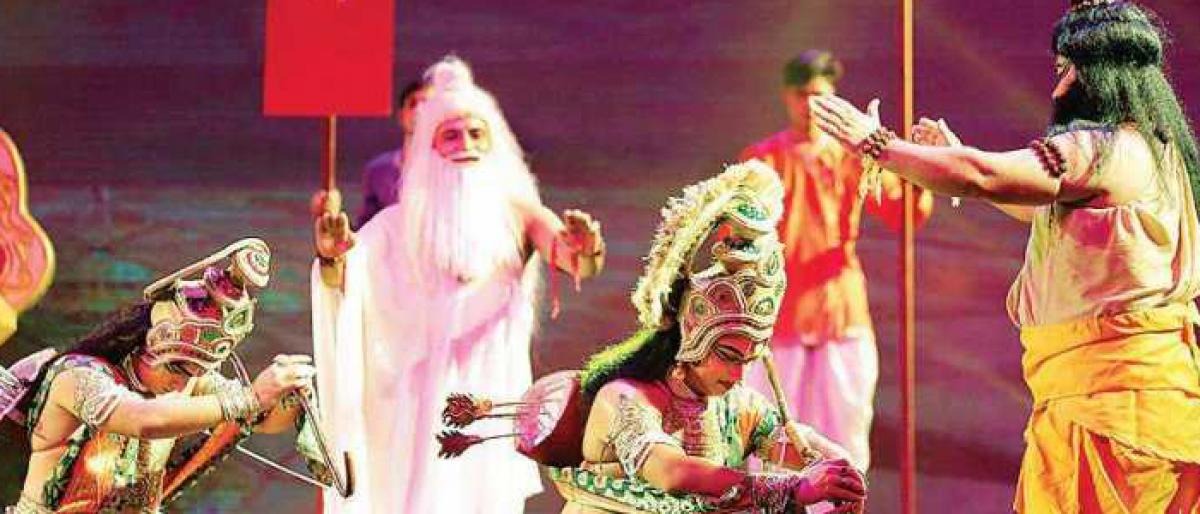 Broadway-style Ramlila : Epic retold with a mix of dance, drama
