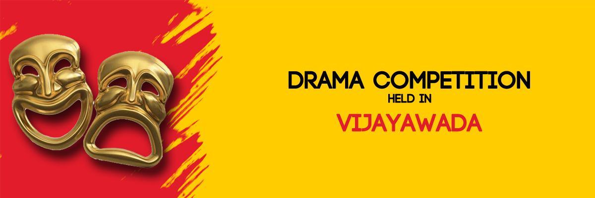 Drama competition held in vijayawada