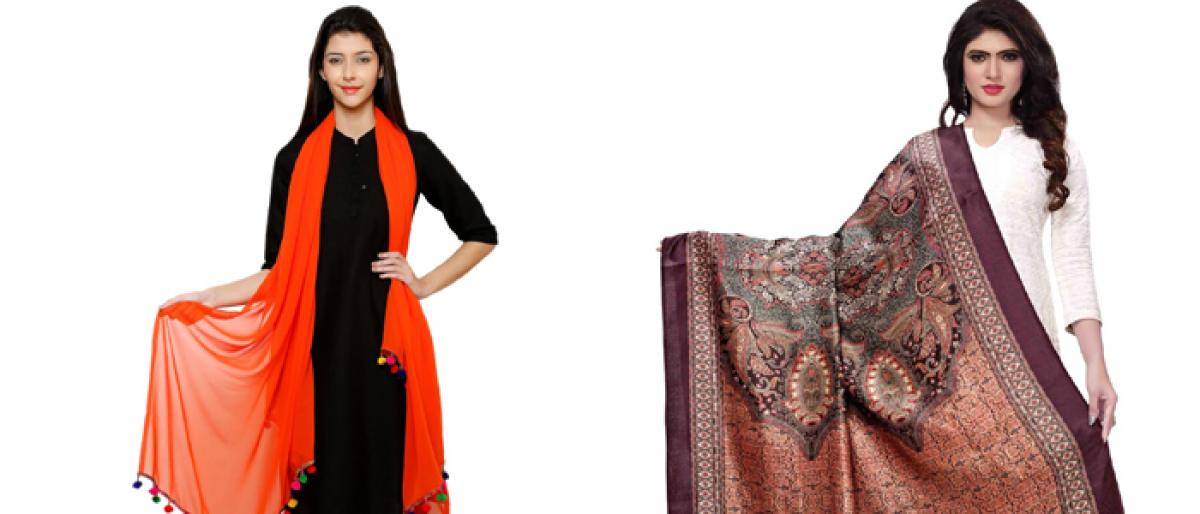 The Elegance of dupatta