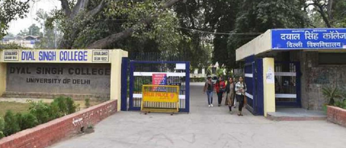 DU college's body denies principal's access to office