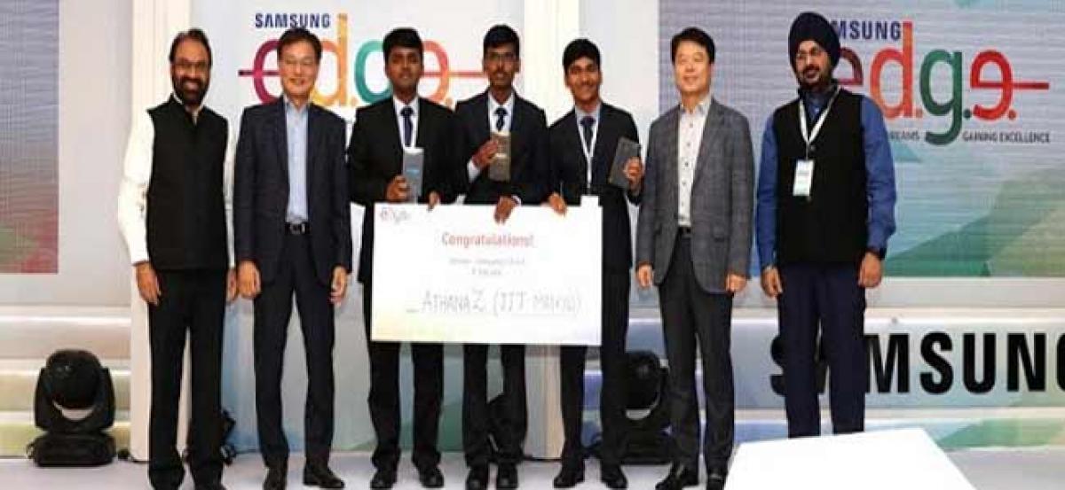 IIT Madras wins second season of Samsung E.D.G.E. 2017