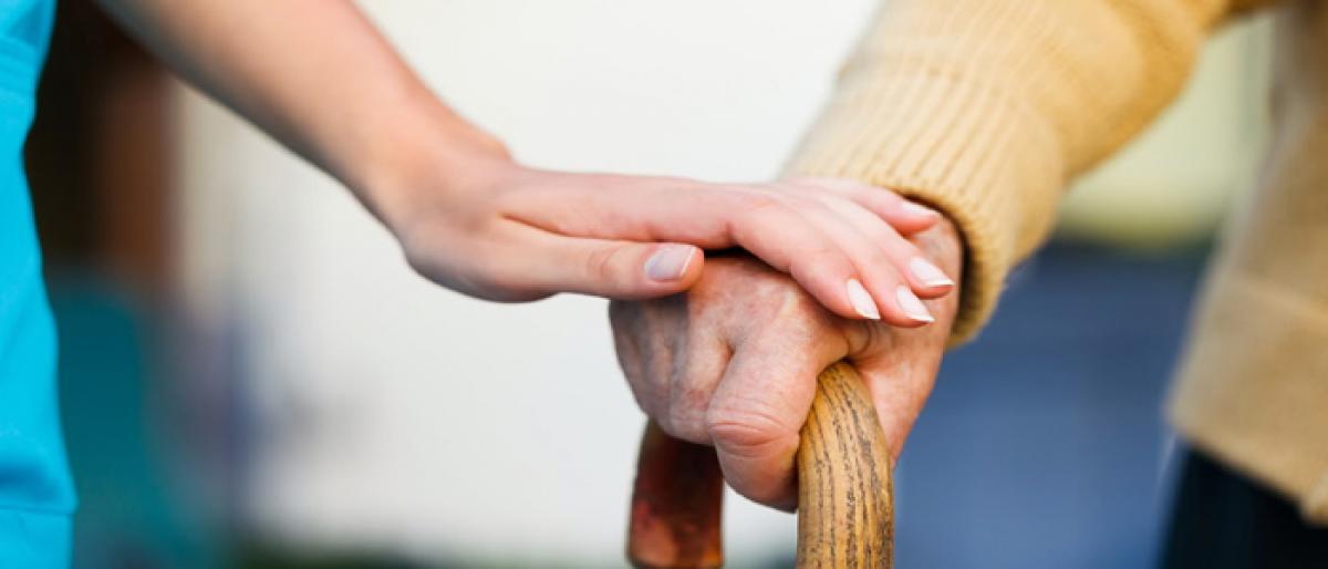 Elderly healthcare not in the pink