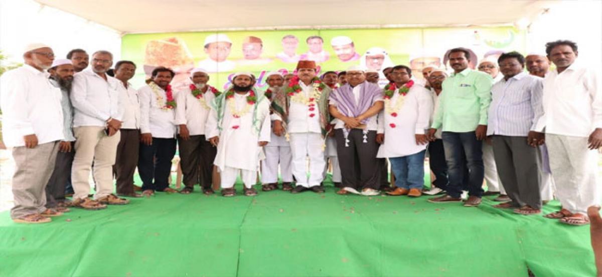 MLA takes part in Eid Milap