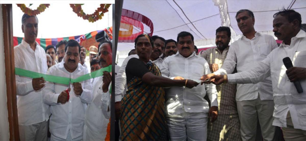 Minister inaugurates electric sub-station at Chinchelpet