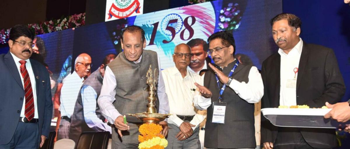 Governor E S L Narasimhan calls for ease of filing returns for senior citizens