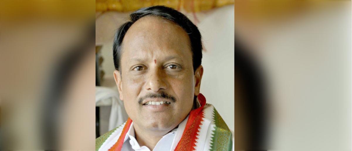 Congress leader EV Srinivasa Rao appointed as PCC co-option member