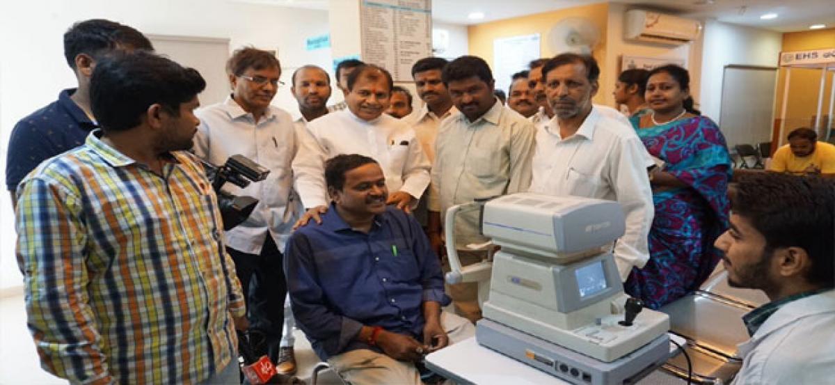 Nemi Foundation holds free eye-checkup camp