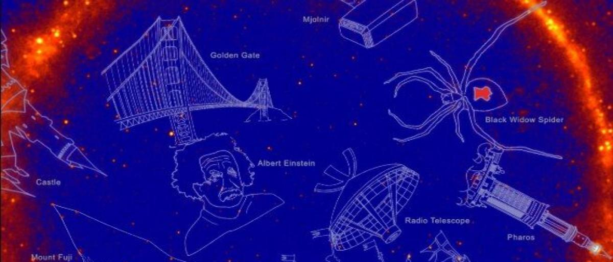 Einstein, Hulk have their own constellations