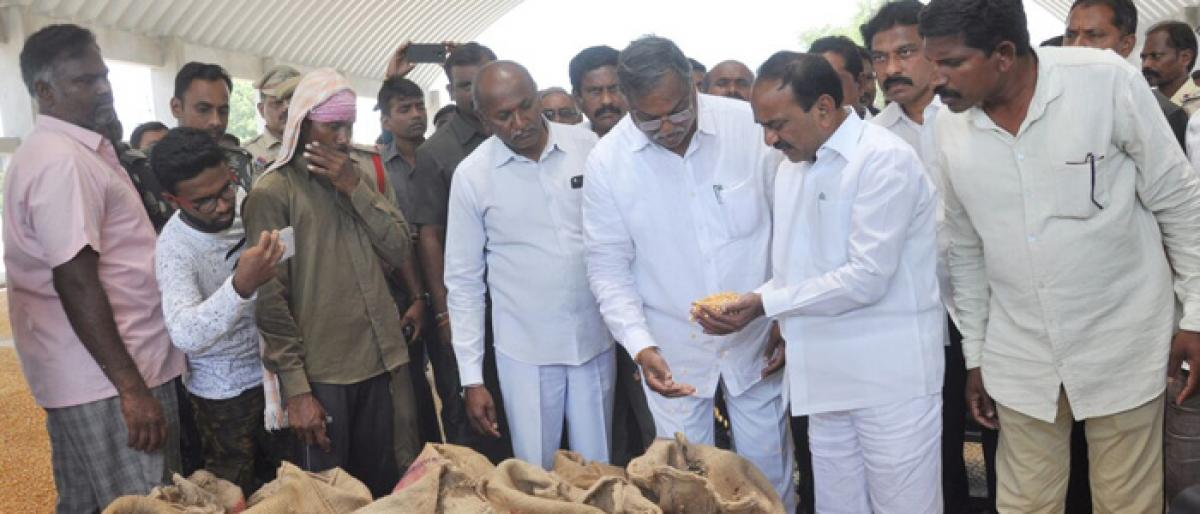 Govt will purchase your produce: Eatala to farmers