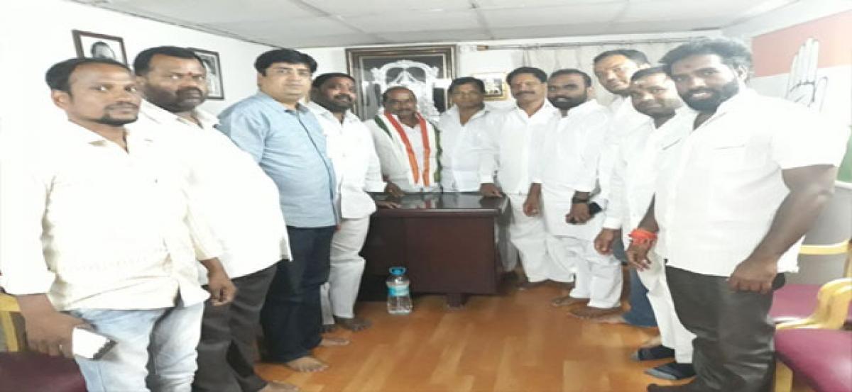 Fateh Nagar Congress resolves to strengthen unit