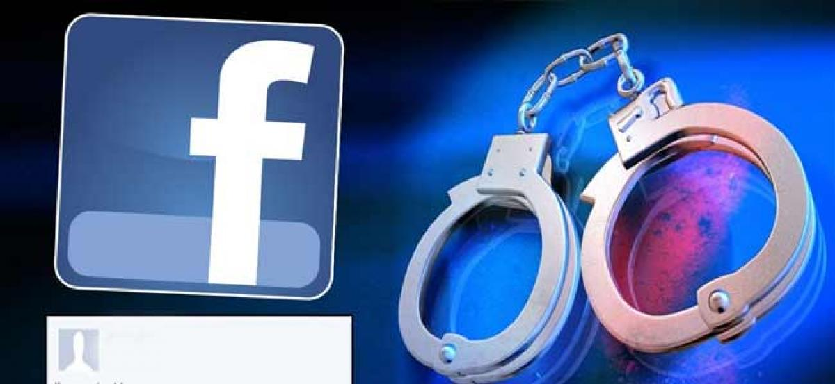 Student posts private pictures of woman on Facebook, arrested