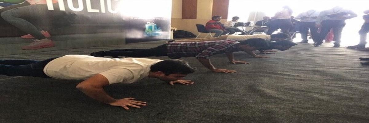 DocOnline conducts fitness challenge