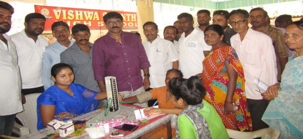 400 benefit from medical camp