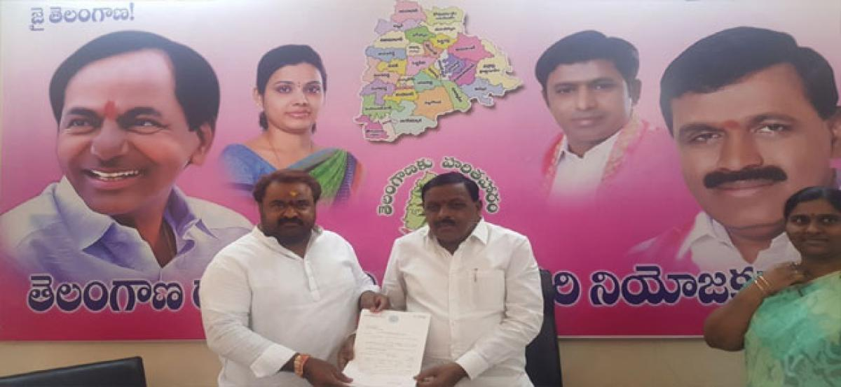 MLA releases funds for civic works