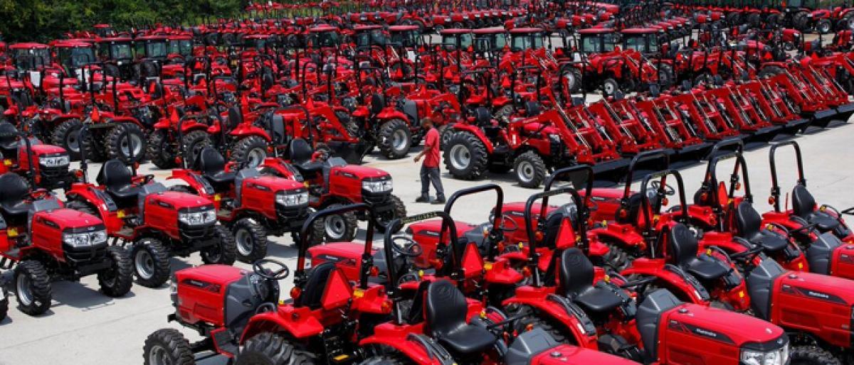 Govt allocates 213 tractors to ryots to boost mechanisation