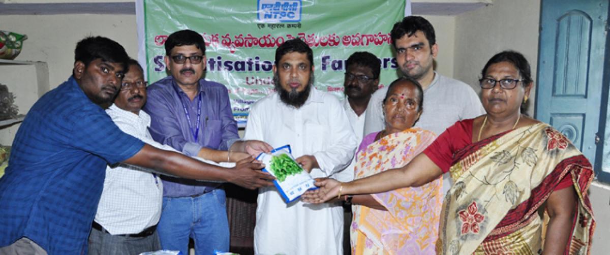 Farmers sensitisation programme held