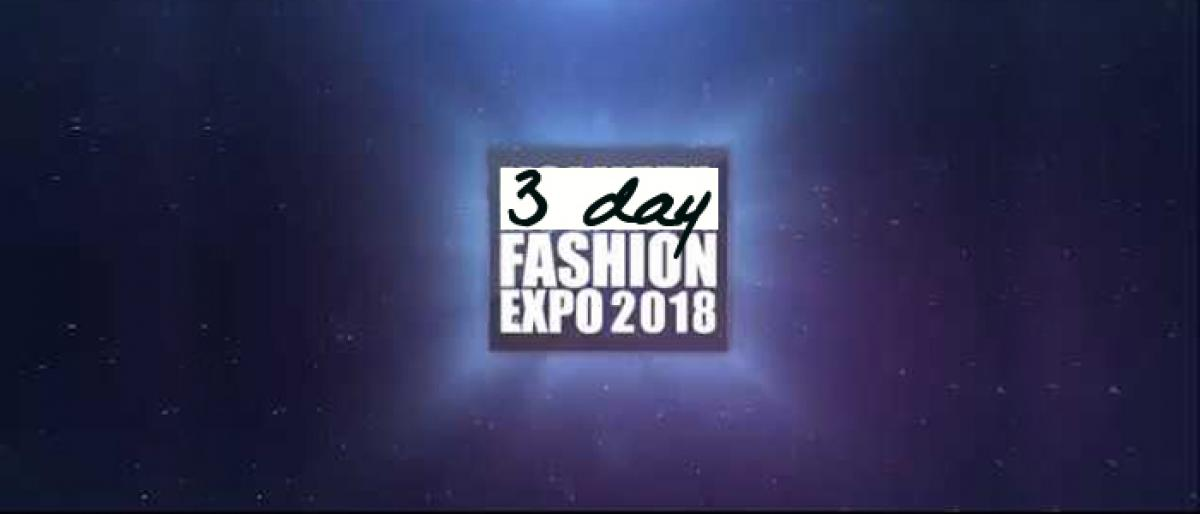 Three Day Fashion Expo begins at Ananda Inn Hotel in Bhimavaram