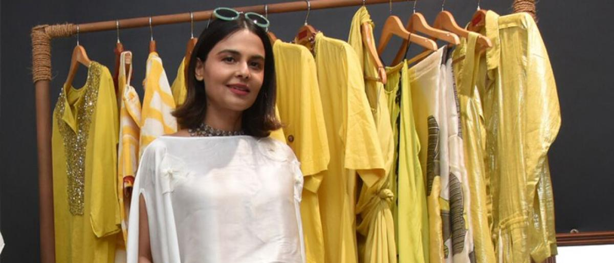 Asmita showcases her new collection