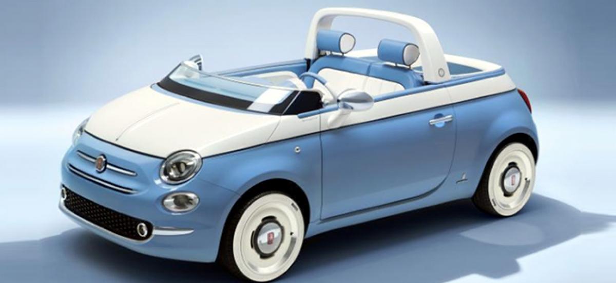 Fiat 500 Spiaggina 58 Is A Tribute And A Celebration