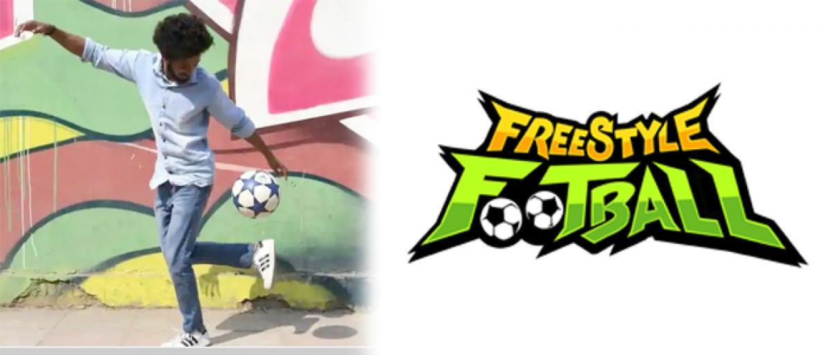 Free Style Football : Nikhil hopes for Guinness Record