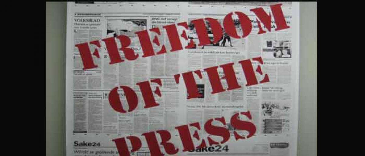 Freedom of press & democracy