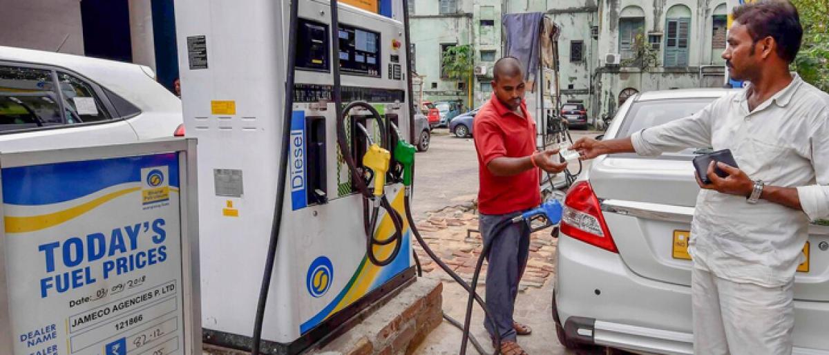 Petrol, diesel hit new high