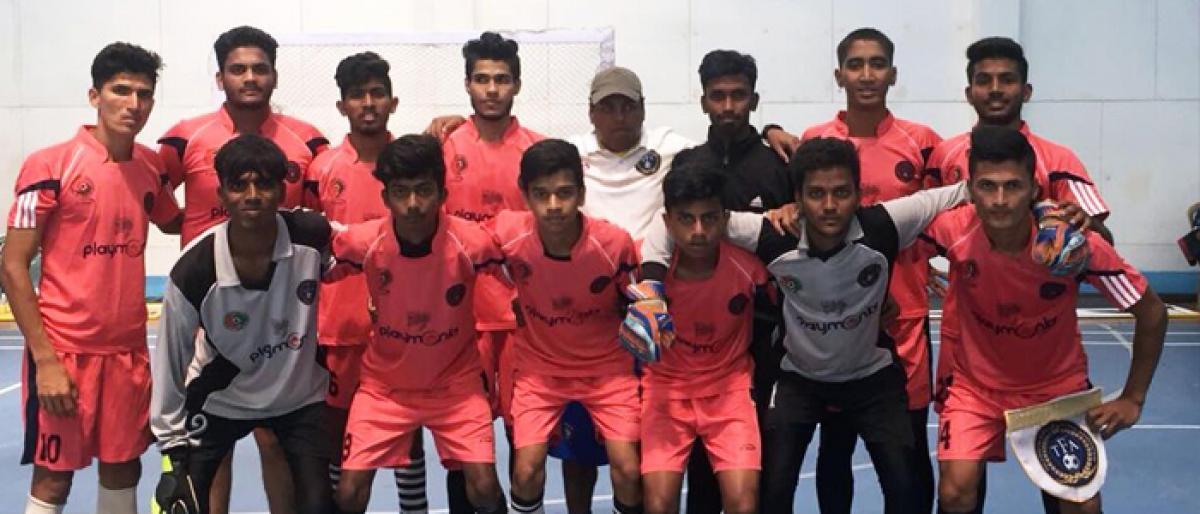 Telangana rock in U-20 Futsal Nationals