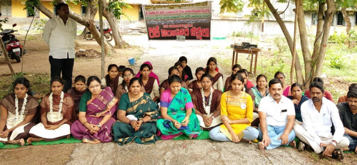 Start admissions in Government Girls Vocational Institute college, BJP demands