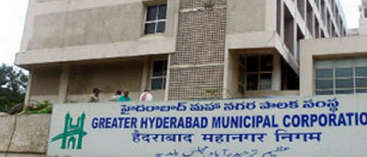 GHMC not to accept property tax between July 5 & 12