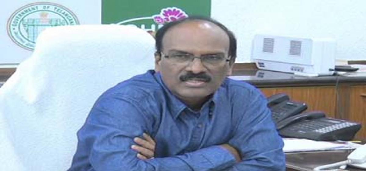 GHMC Commissioner inspects civic works