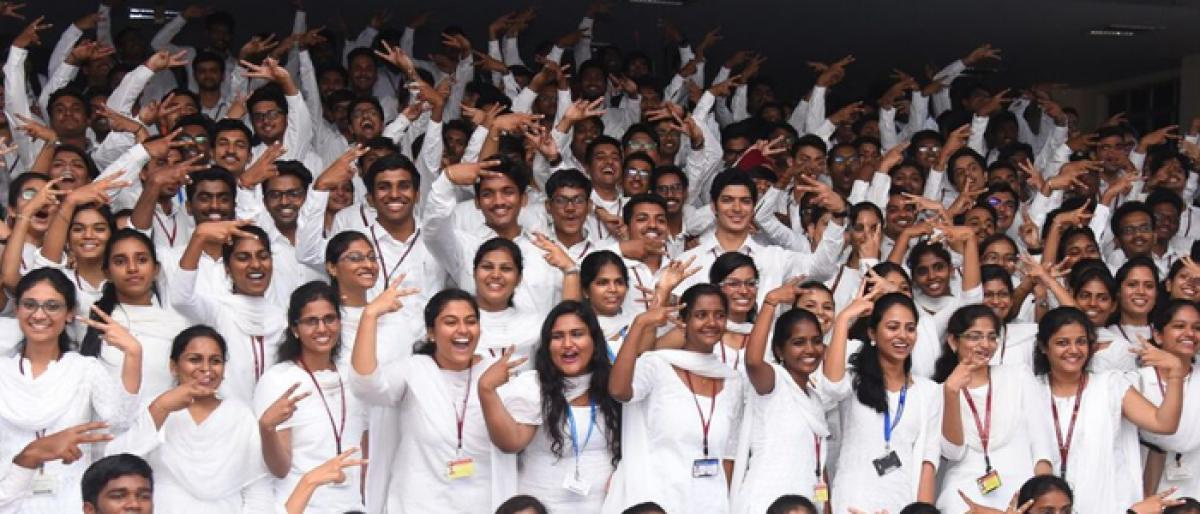 702 GITAM students selected in campus placement