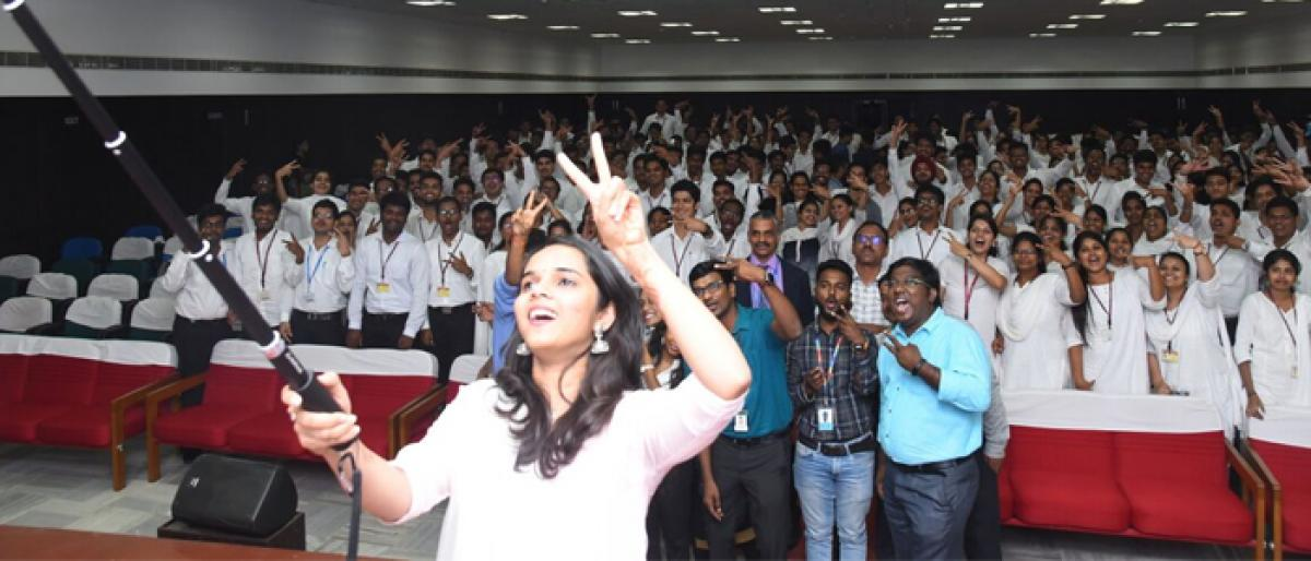 253 students from GITAM University get placements
