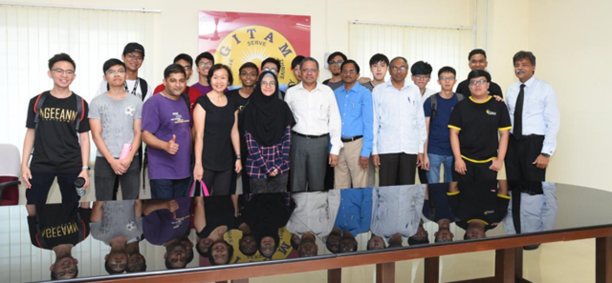 GITAM to host 3-week  Overseas Immersion Programme