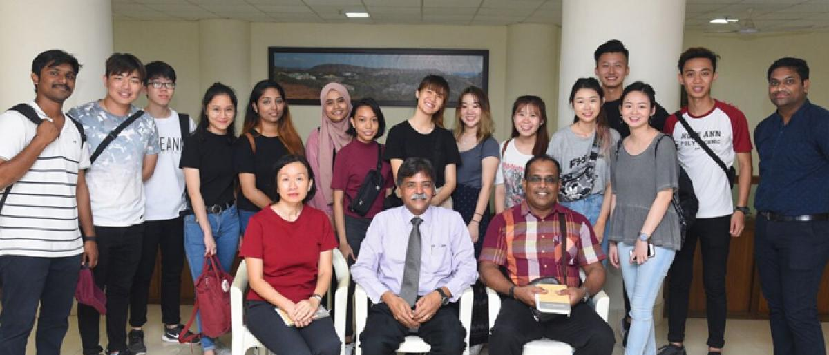 Overseas Immersion Programme at GITAM for Singapore students