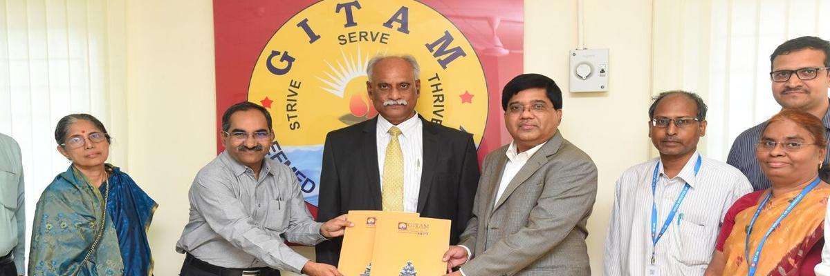 GITAM signs MoU with Bogar Laboratories
