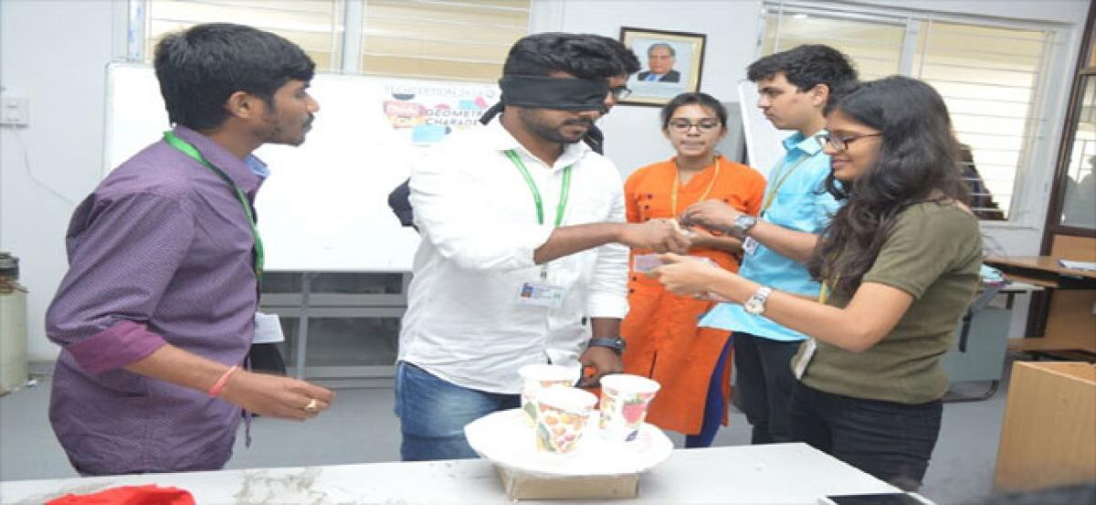 Techception held at GITAM varsity