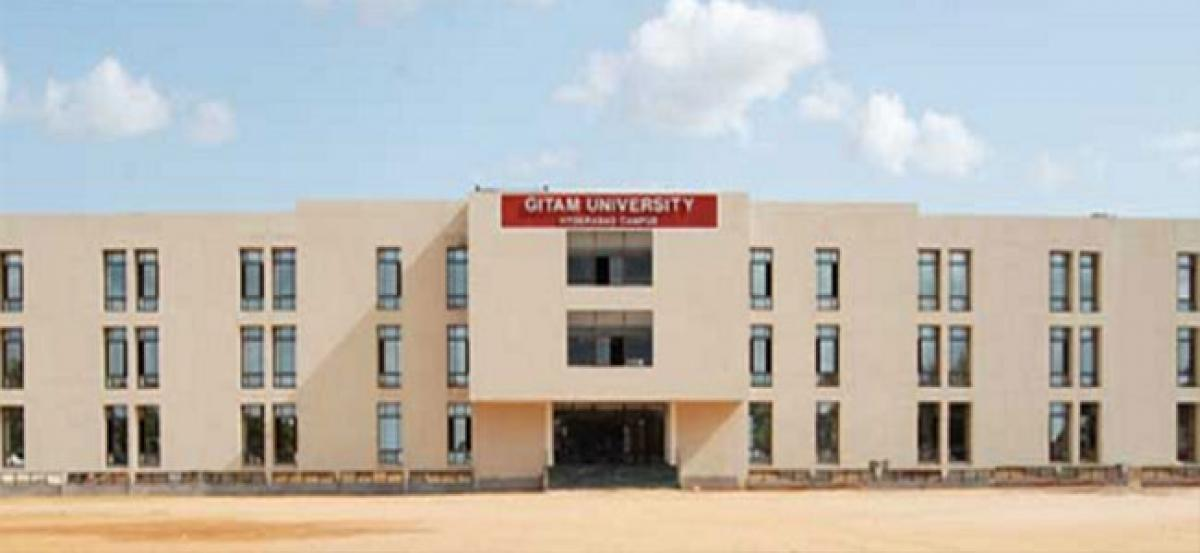 GITAM students shine in placements