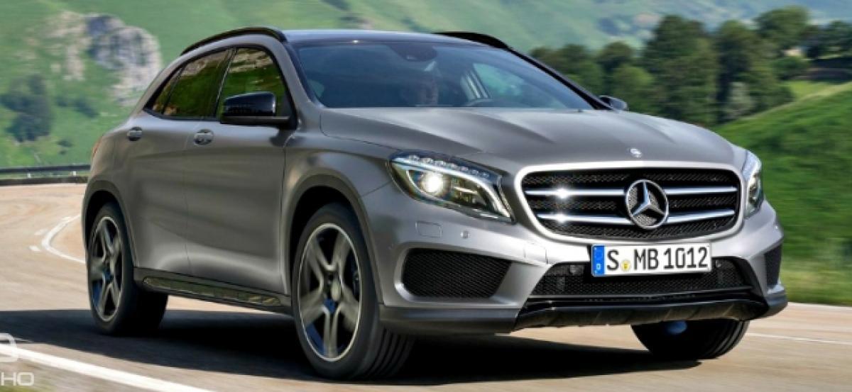Second-Gen Mercedes-Benz GLA Spotted Testing