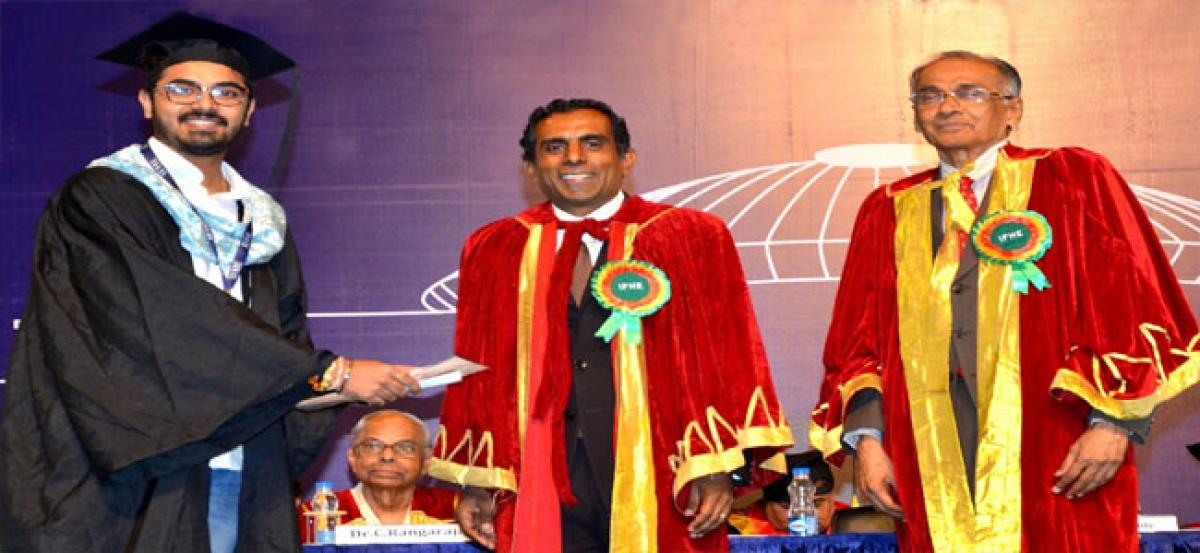 Convocation held at ICFAI