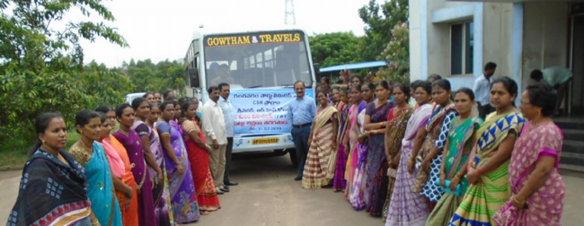 Gangavaram Port Limited launches sewing training for women