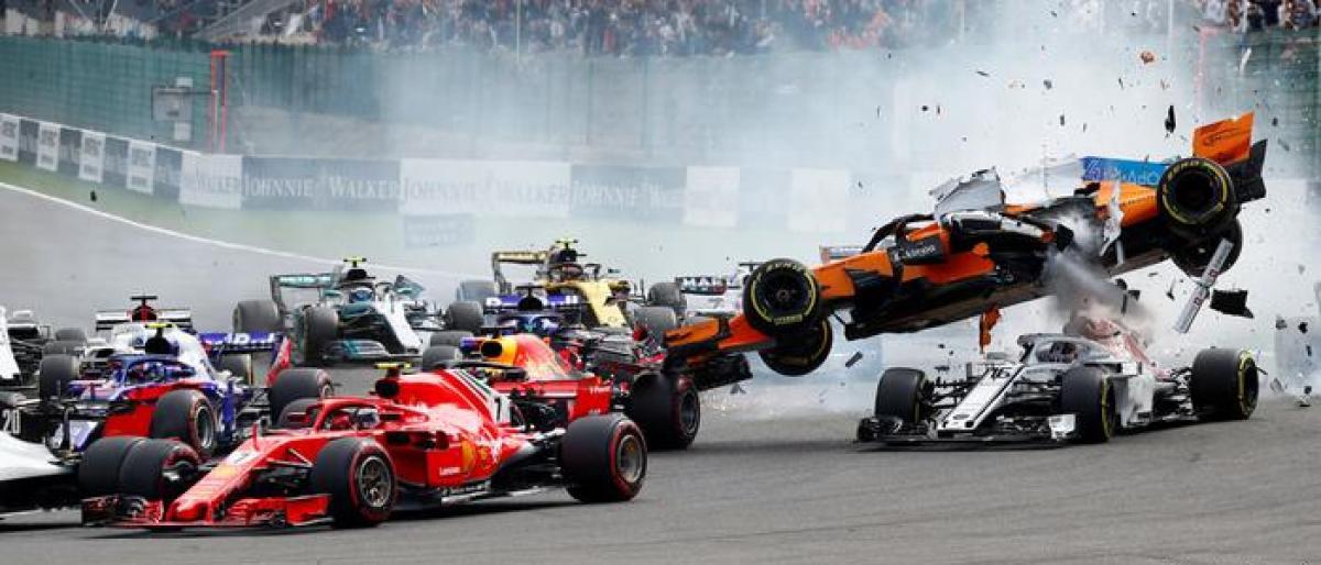 Sebastian Vettel pips field for Belgian Grand Prix