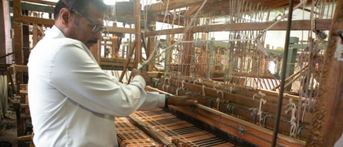 GST blow to handloom sector