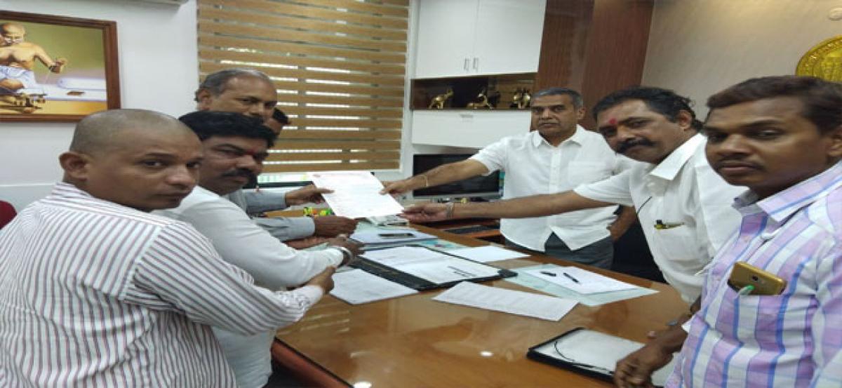 TVKSAC demands regularisation of contract employees